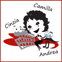 """Cinzia, Camilla e Andrea del Bed&Breakfast Roma """"La Roma di Camilla"""""""